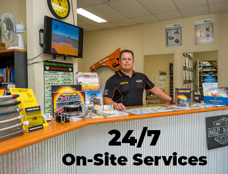 24/7 On-Site Services at Rapid Albury Wodonga